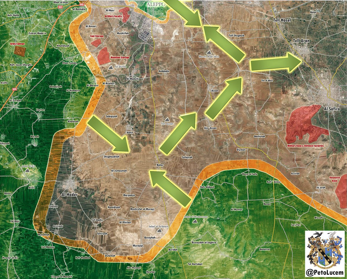 Overview of Military Situation in Aleppo City on October 11, 2016