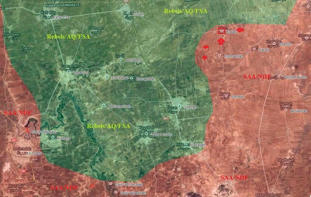 Syrian Army's Tiger Forces Liberate Ma'an, Continue Advances in Northern Hama