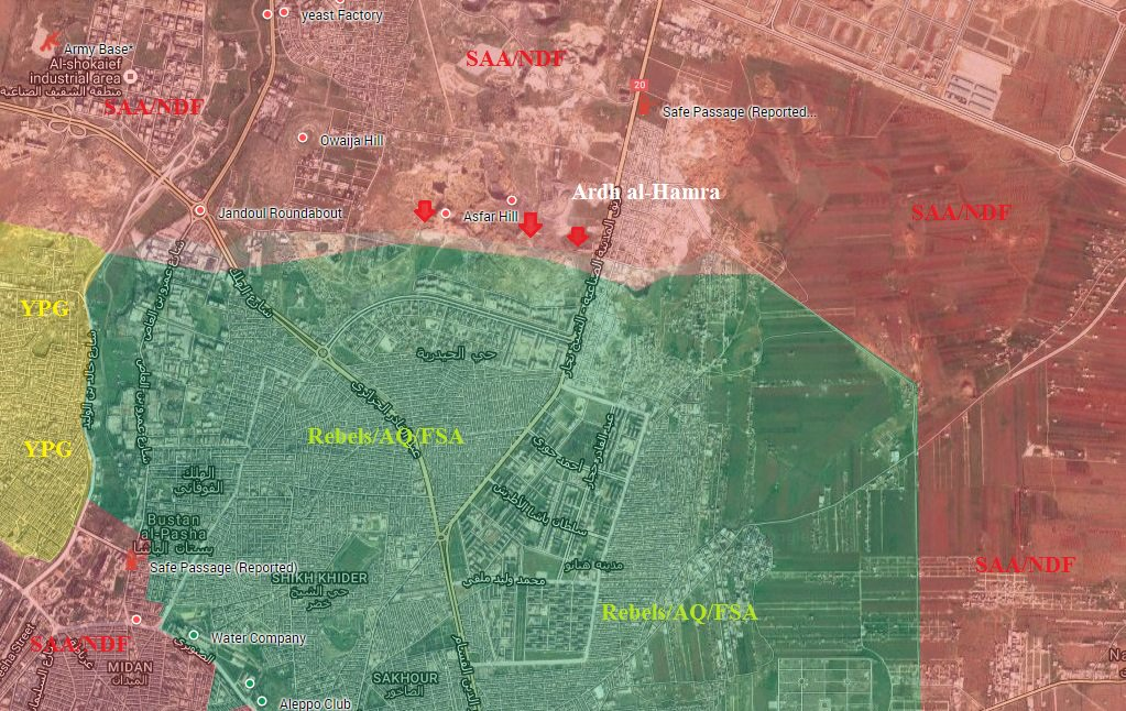 Syrian Army Liberates More Areas in Northern Aleppo