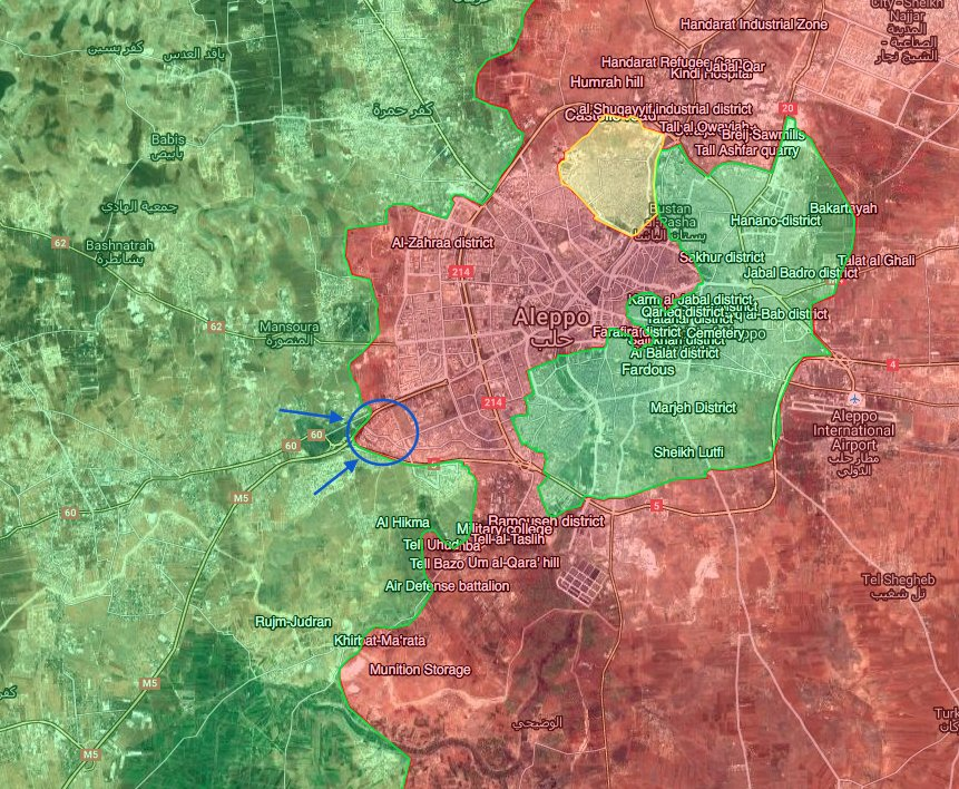 Militants Launch New Offensive to Break Aleppo Siege. Detailed Overview of Military Situation on Octber 28, 2016 (Maps, Photos)