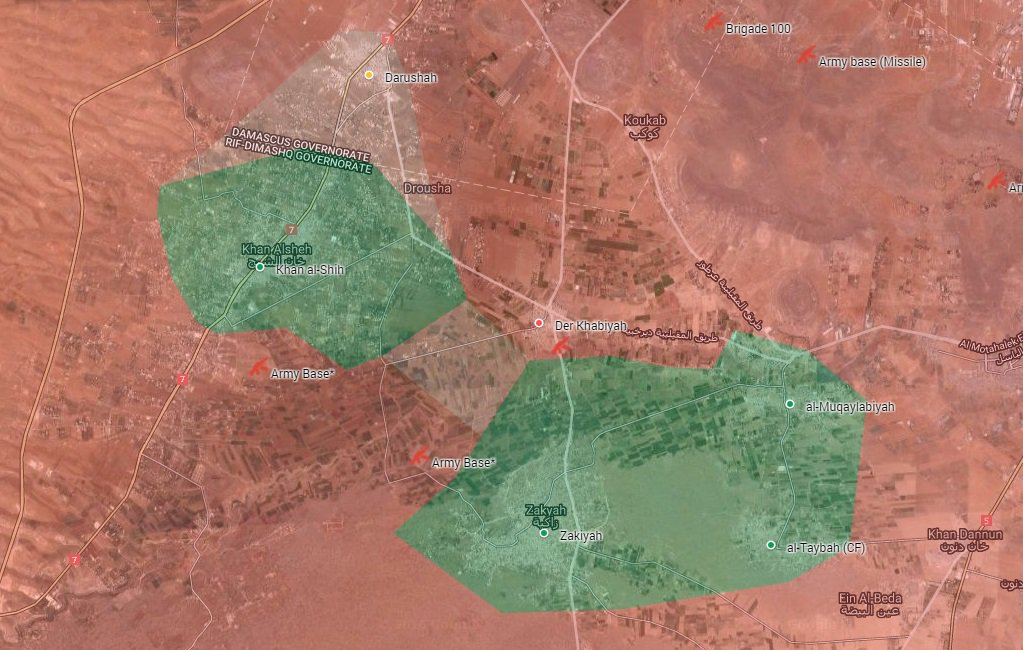 Syrian Army Splits Western Ghouta Pocket into Two Parts