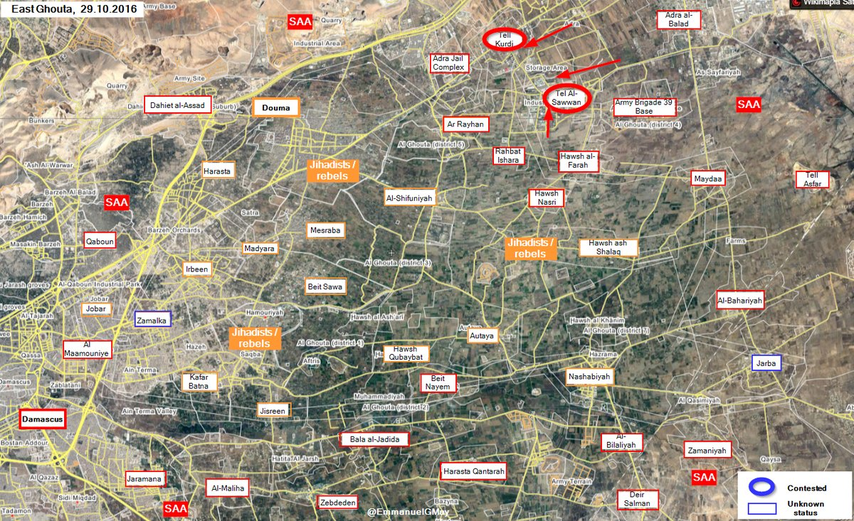 Militants Defenses Collapse in Eastern Ghouta as Syrian Army Liberates Important Town