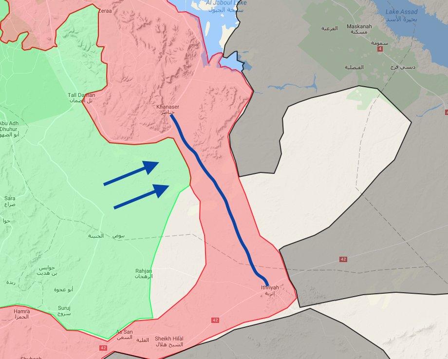 Al-Nusra (al-Qaeda) Attacked Govt Freinforcements Convoy Heading to Aleppo