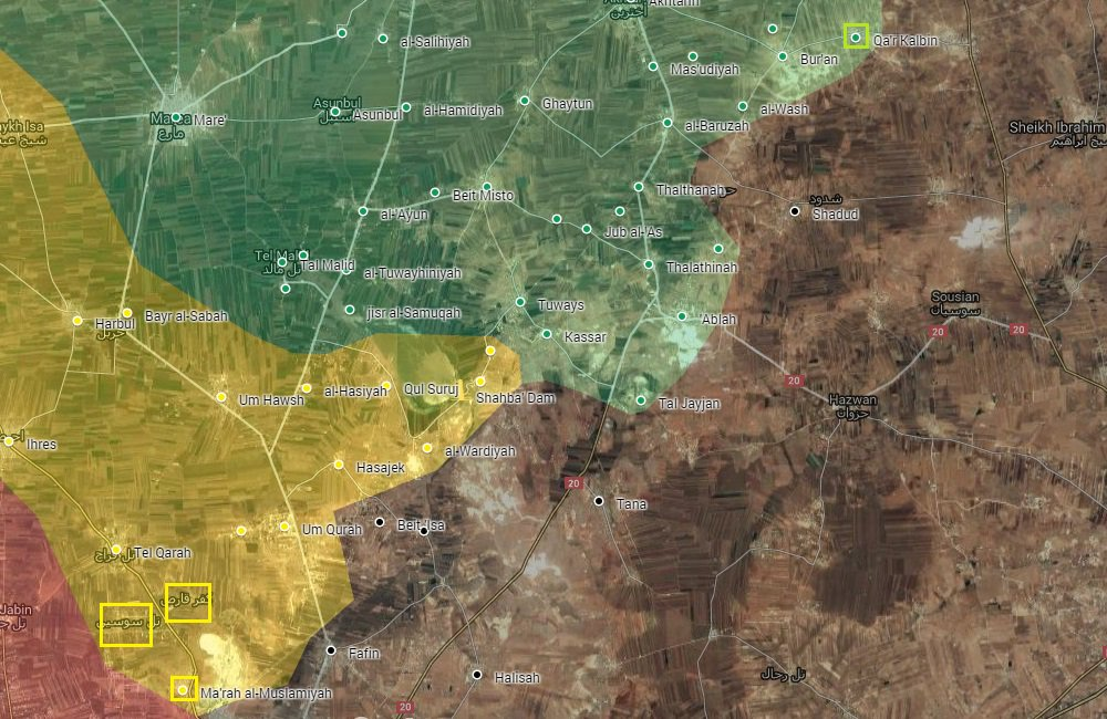 Kurdish YPG and Turkish Forces Gain More Areas from ISIS in Northern Aleppo