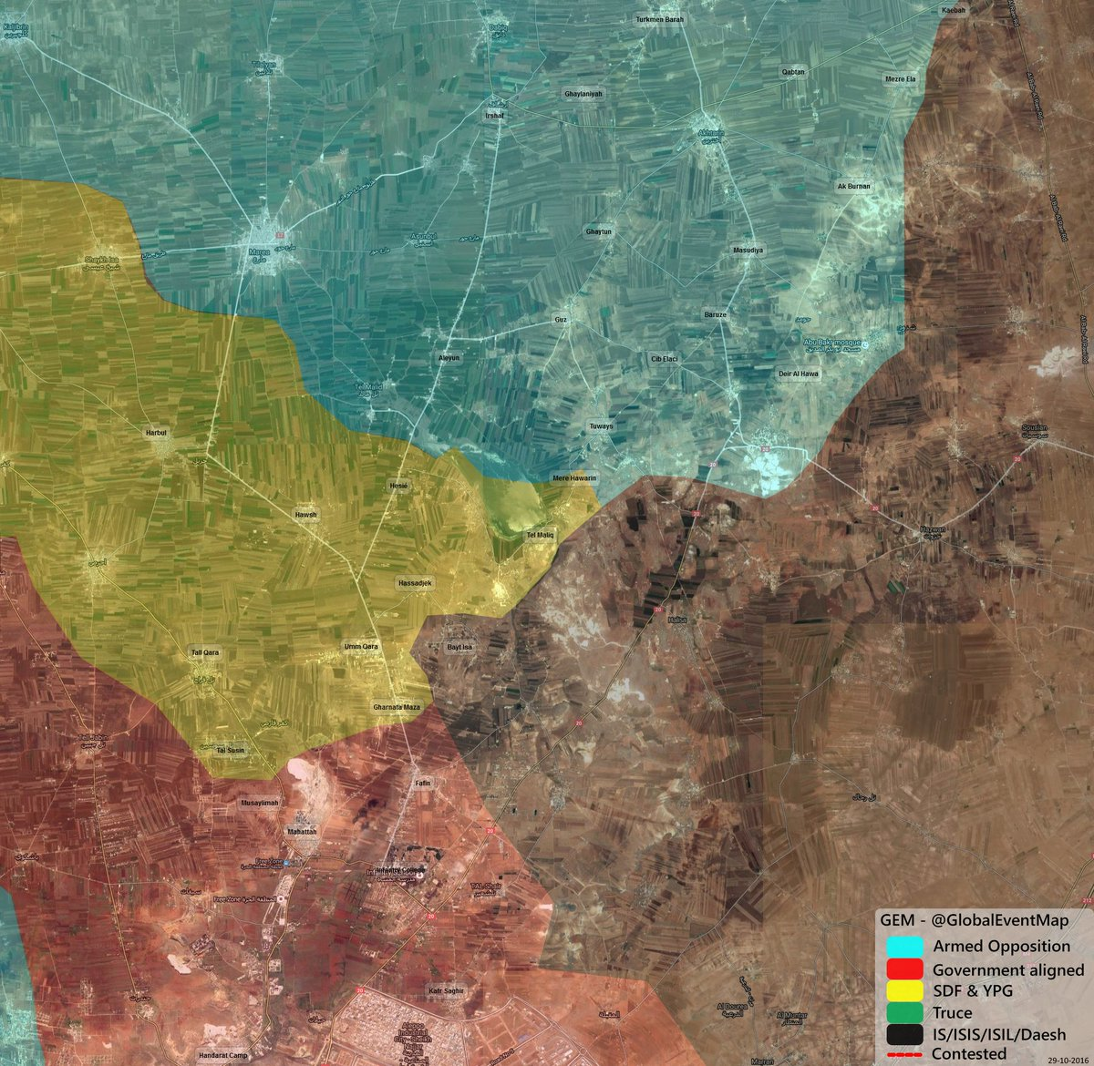 Syrian Army Liberates 5 Villages from ISIS in Northeastern Aleppo