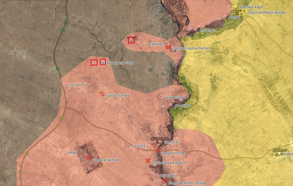 Iraqi Army & PMU Liberate More Villages from ISIS near Mosul