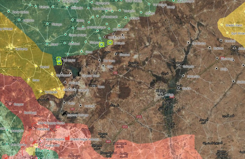 Pro-Turkish Militants Advancing in Direction of Al-Bab