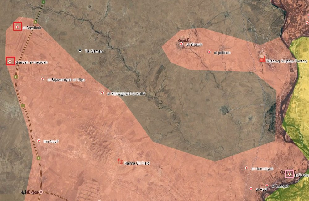Overview of Military Situation in Mosul on October 19, 2016