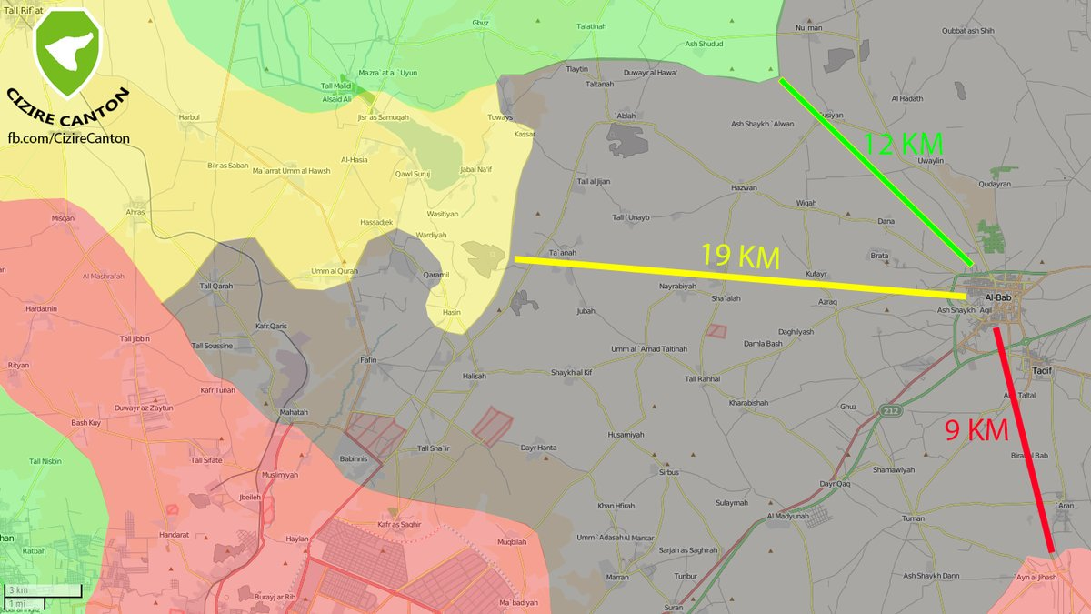 Overview of Military Situation in Aleppo Province on October 20, 2016