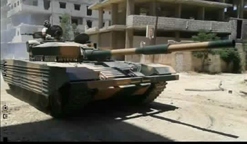 How Syrian Army Modifies T-72 Tanks to Prepare Them for Urban Warfare (Photos)