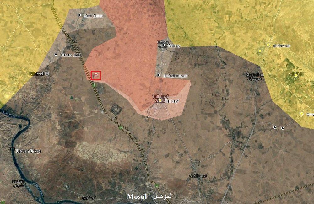 Iraqi Forces Advance North of Mosul