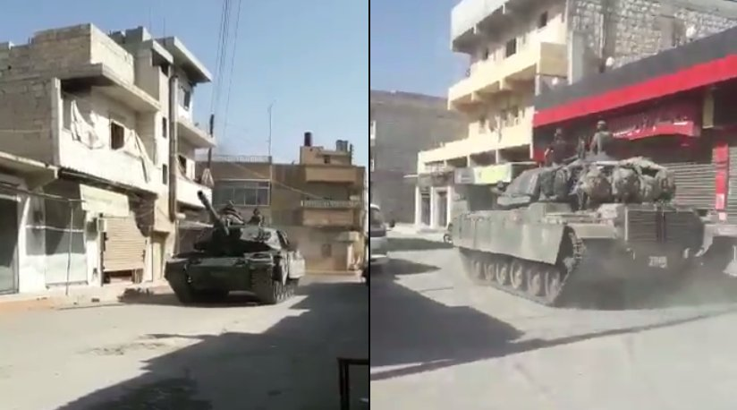 Footage: Turkish Regular Army Clashing with Kurdish YPG in Northern Aleppo