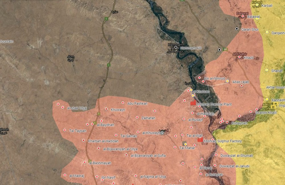 Iraqi Security Forces Liberate More Villages from ISIS in Mosul Countryside