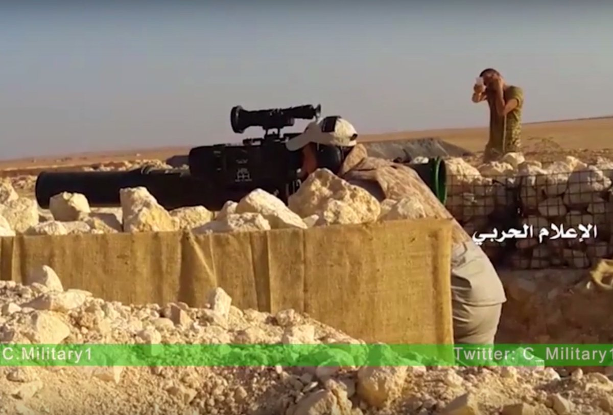 Syrian Government Forces Use Iranian Anti-Tank Missiles against Militants in Southern Aleppo (Video)