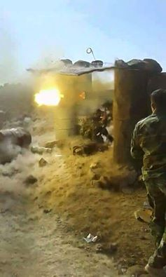 Syrian Army Soldier Destroyed 4 Tanks Belonging to Terrorists in Damascus Countryside (Photos)