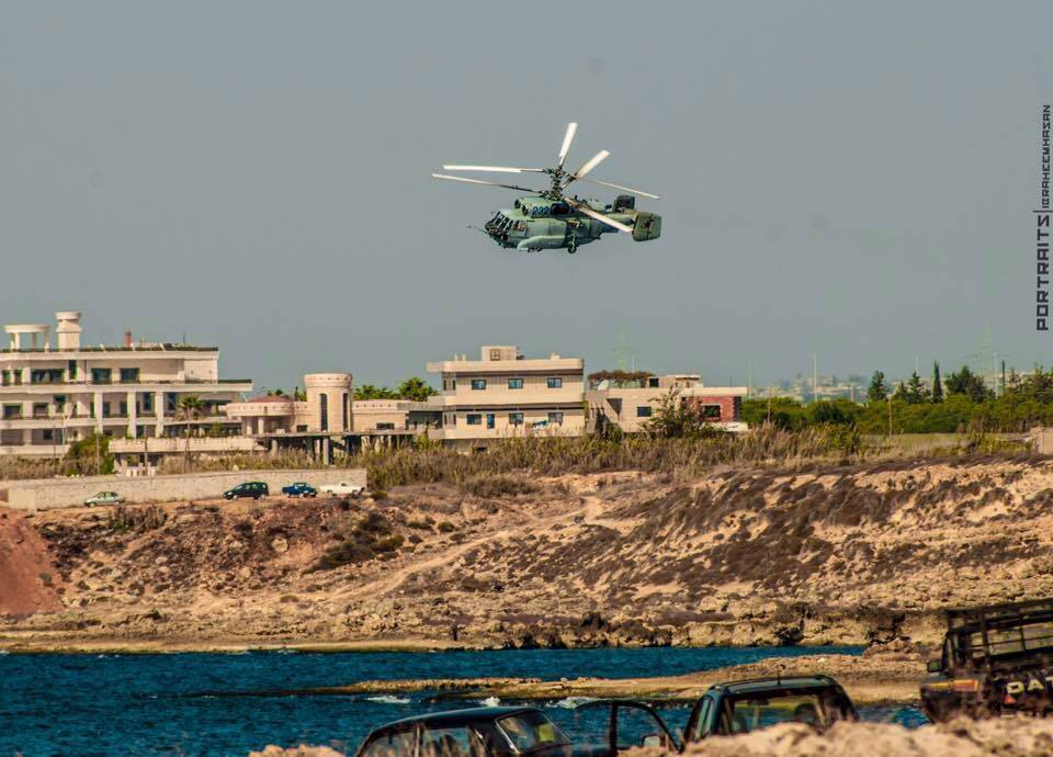 Russian Navy's Ka-31 Airborne Early Warning and Control Helicopter Spotted in Latakia (Photos)