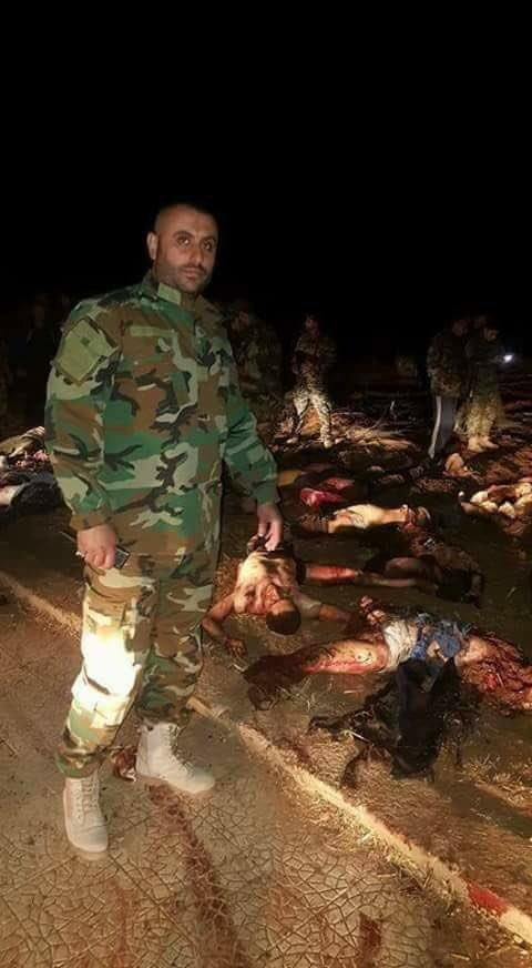Dozens Al-Qaeda Members Dead in Failed Advance on Ibtaa Town in Syria's Daraa Province (Graphic Photos)
