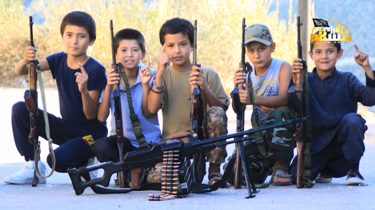 Little Uighur Jihadists of Turkistan Islamic Party in Syria (Photos)