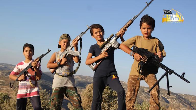 Little Uighur Jihadists of Turkistan Islamic Party in Syria (Photos)