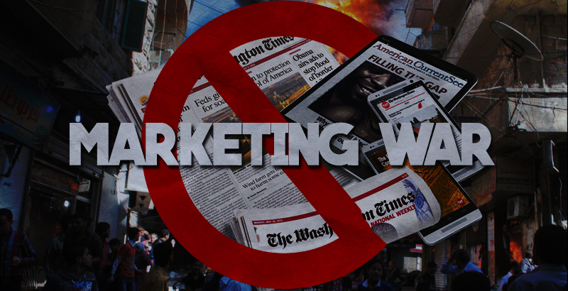 Dangerous Disinformation: The Mainstream Media Is Marketing War