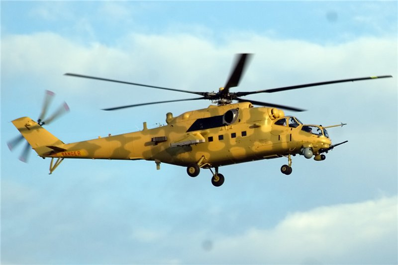 Russian-made Mi-35M Attack Helicopters Kill Top Advisor to ISIS Top Leader (al-Baghdadi)