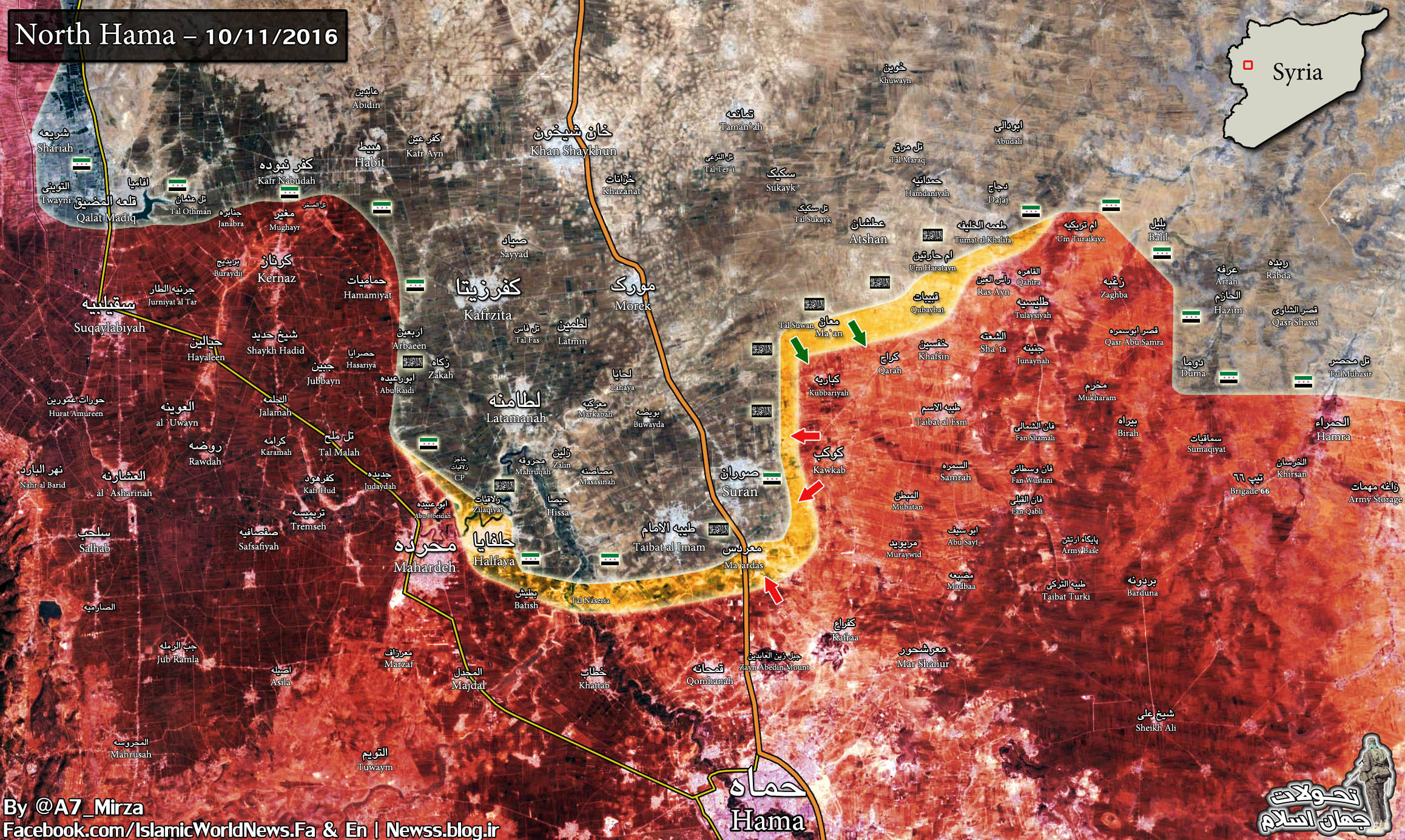 60 Terrorists Dead in Failed Counter-Attack on Syrian Army in Hama