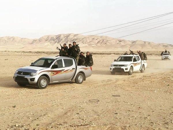 Syrian Army Reaches Al-Sha'er Gas Fields in East Homs