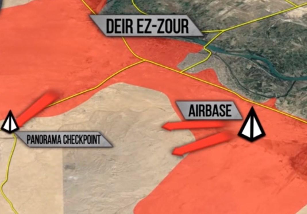 50 ISIS Terrorists Killed in Syrian Air Force's Air Raids near Deir Ezzor