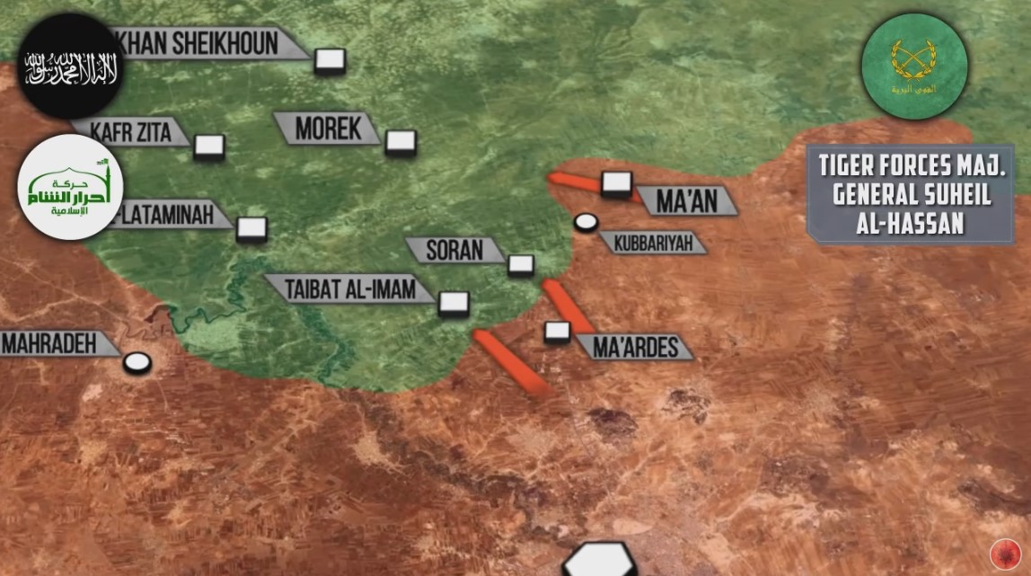 Government Forces Deploy Closer to Militant Stronghold of Sawran in Northern Hama