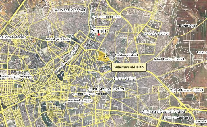 Syrian Army Takes Full Control of Suleiman al-Halabi Neighborhood of Aleppo - Reports