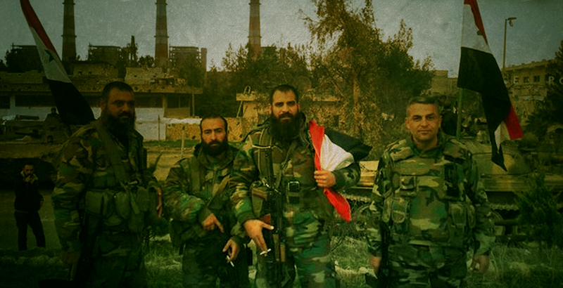 Government Forces Storming Strategic Town of Souran in Norhern Hama