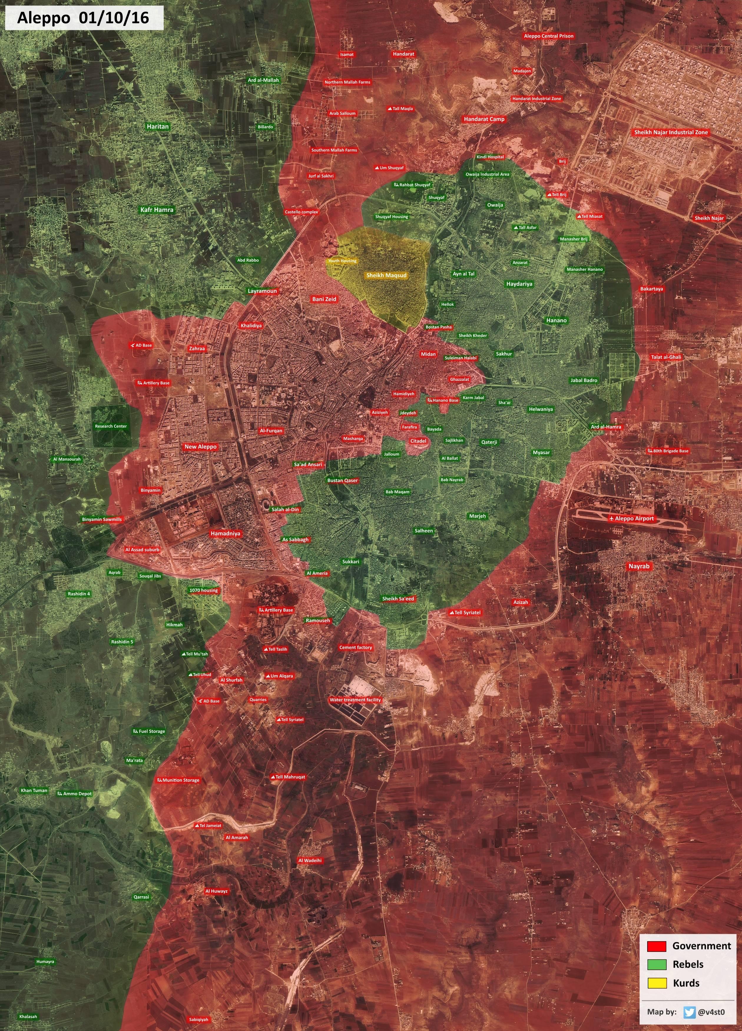 Joint Jihadi Forces Fail to Retake Control of Kindi Hospital in Northern Aleppo