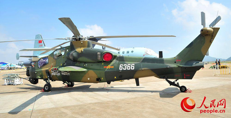 China Introduces Z10K New Attack Helicopter (Photos)