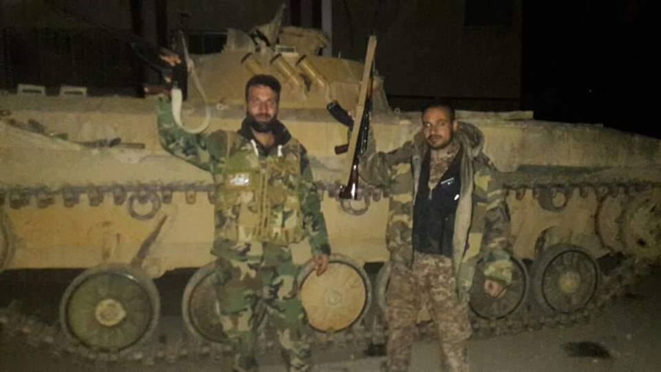 Al-Hamah under the control of the Syrian Army as rebels surrender