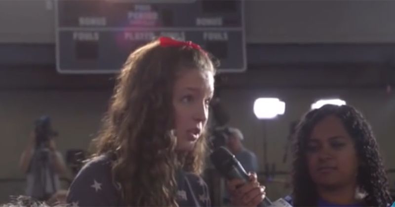 Hillary Clinton Caught Using Child Actor During Question & Answer Session
