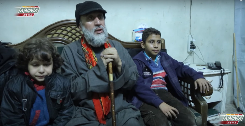 Syrian Family Escaped from Eastern Aleppo Tells about Situation in City (Video)