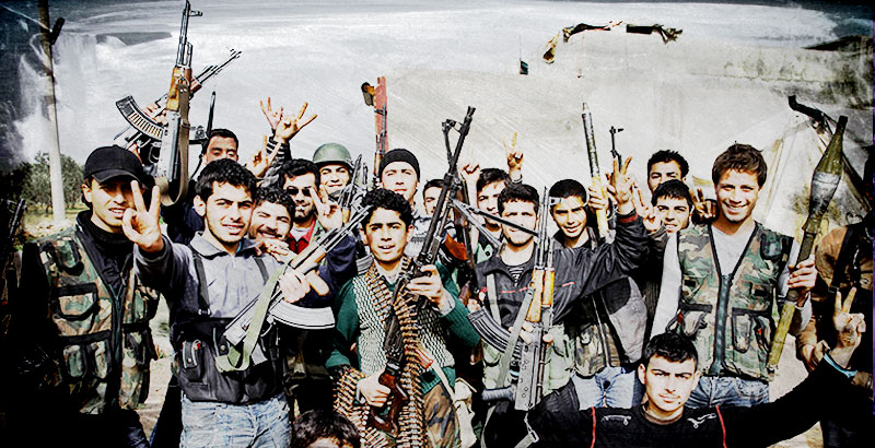 Media: Size of Free Syrian Army Tripled since Turkish Invasion