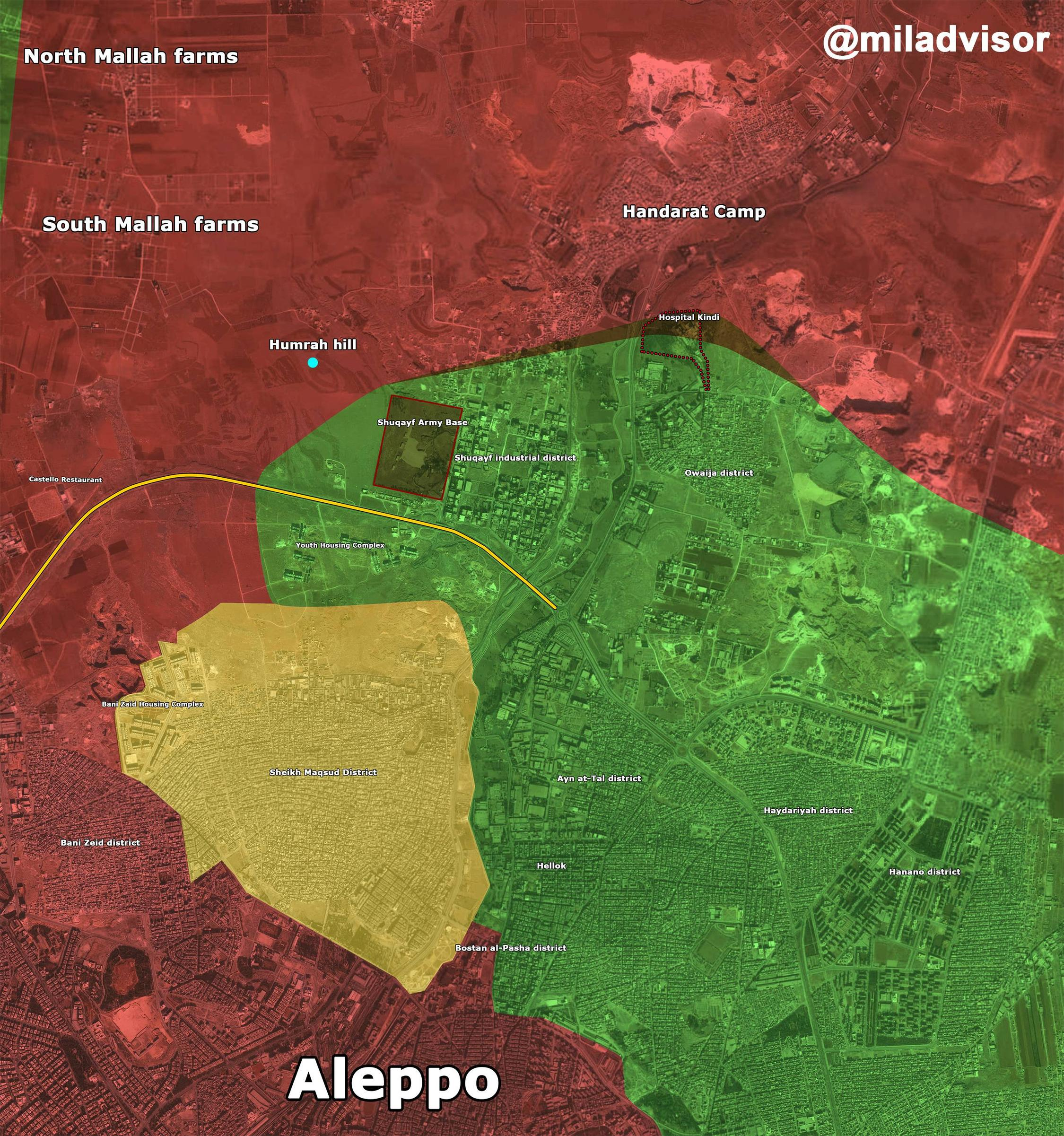Joint Jihadi Forces Fail to Retake Control of Kindi Hospital in Northern Aleppo