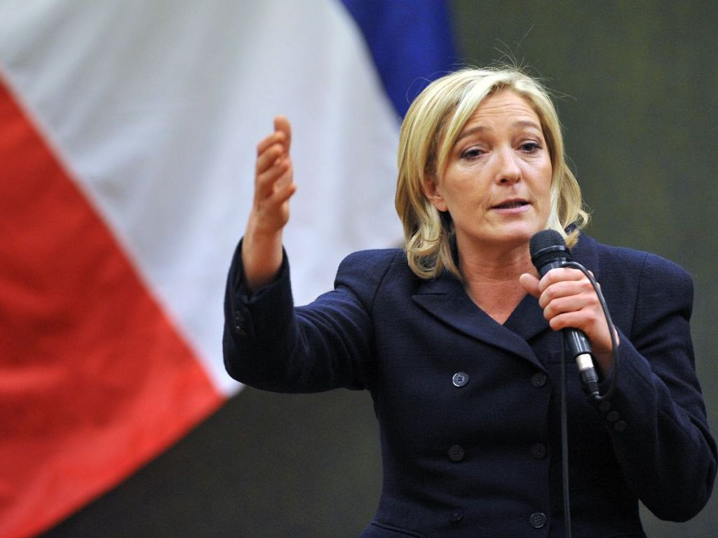 "France's Marine Le Pen Says EU Responsible For ""Monstrous Chaos In Syria"""