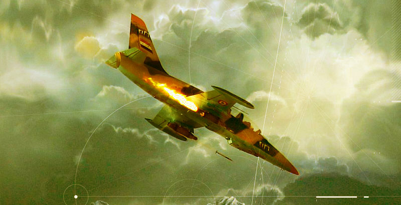 Syrian & Russian Fighter Jets Strike Terrorists' Positions across Idlib Province