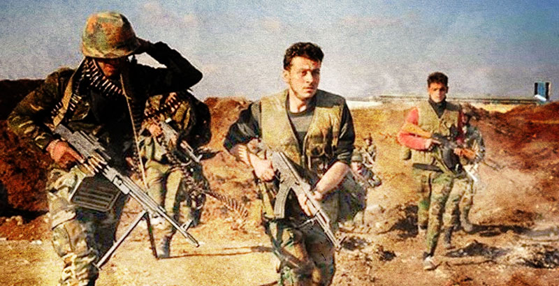 Syrian Army Continues Its Attacks on Terrorists' Positions in Eastern & Western Damascus