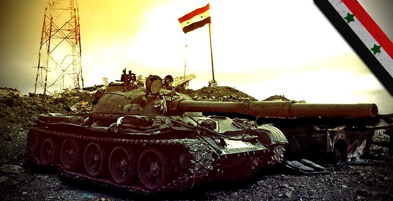 Syrian Army Destroys ISIS Fuel Convoy