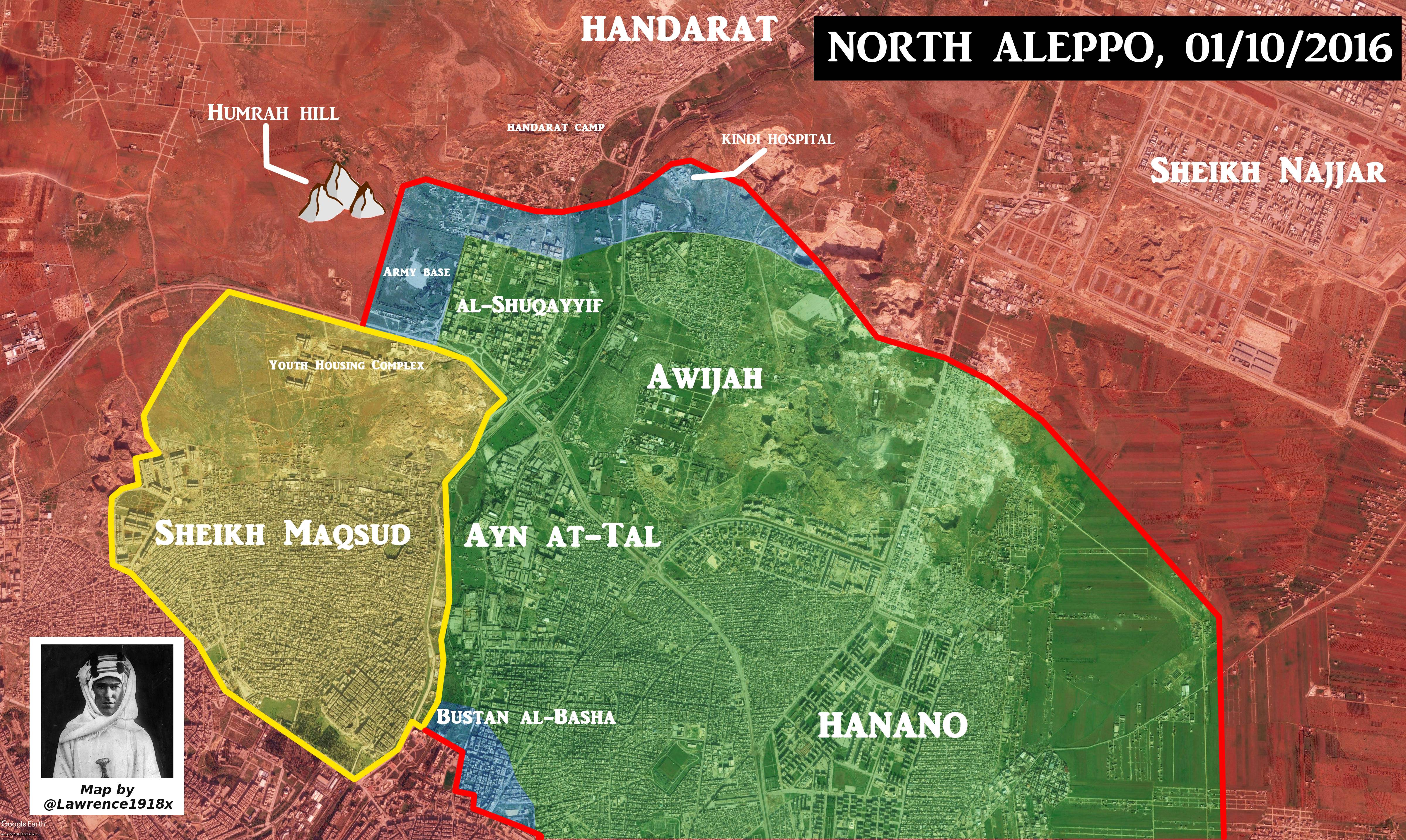 Government Forces Secure Strategic Humrah Hill, Set Fire Control of Shuqayyif Neighborhood of Aleppo City