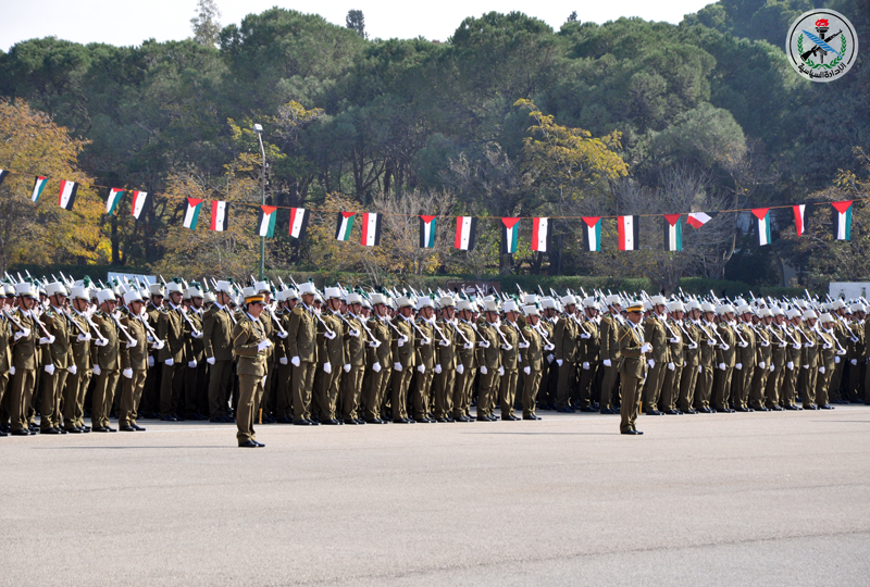 Over 4,000 fresh Syrian Army Soldiers Graduate Officer Training School