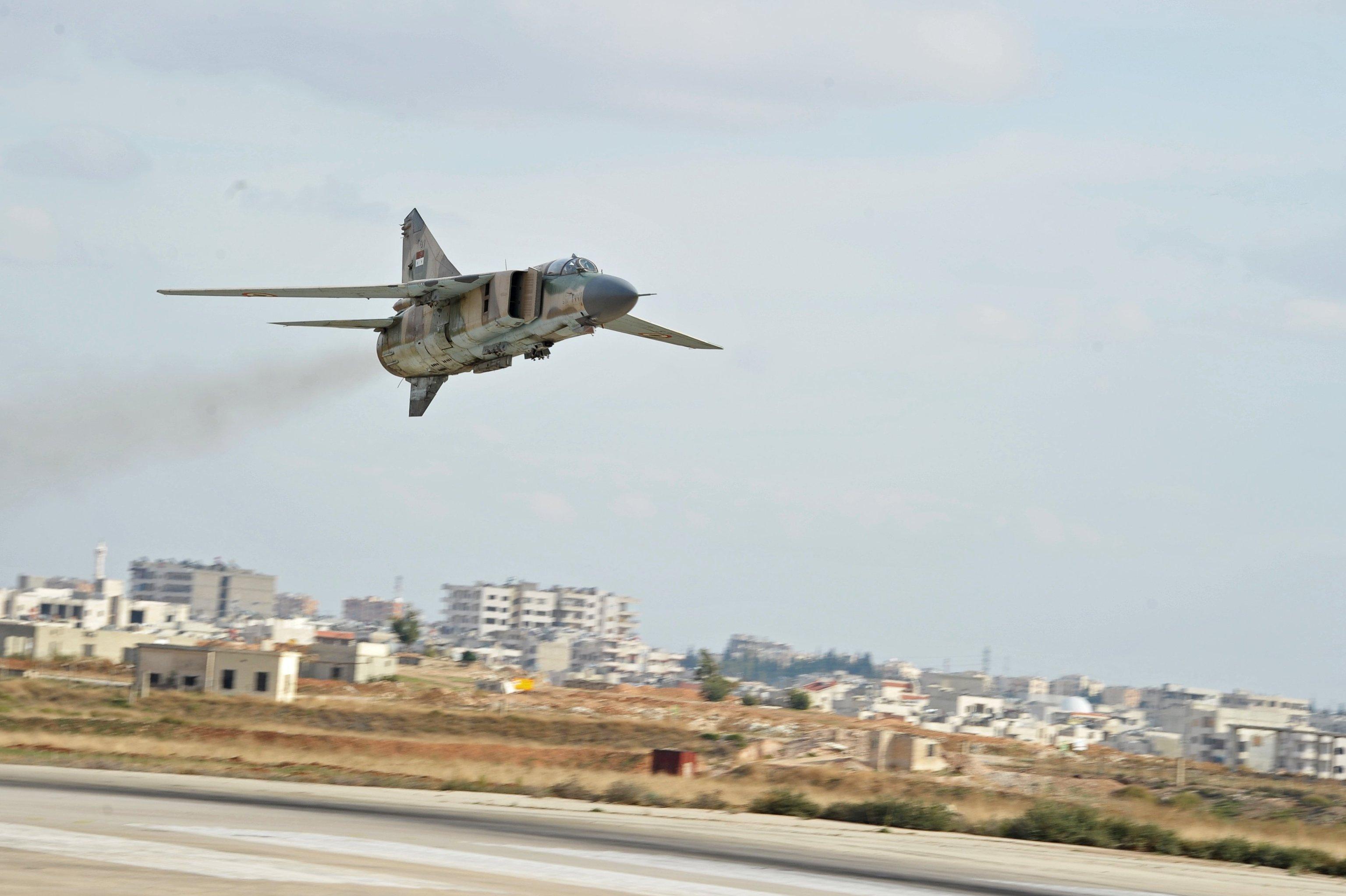 Syrian Warplanes Strike Again Turkish Military in Northern Syria - Report