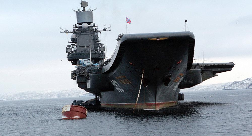 Admiral Kuznetsov Battlegroup Begins Combat Operations in Syria, Cruise Missiles Hit Terrorists in Idlib Province
