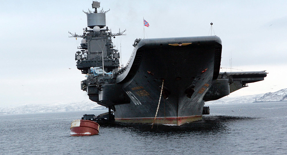 Admiral Kuznetsov Battlegroup Begins Combat Operations in Syria, Cruise Missiles Hit Terrorists in Idlib Province