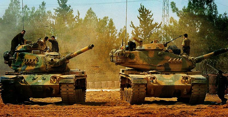 Turkey Massively Deploys Battle Tanks, Equipment Near Iraqi Border