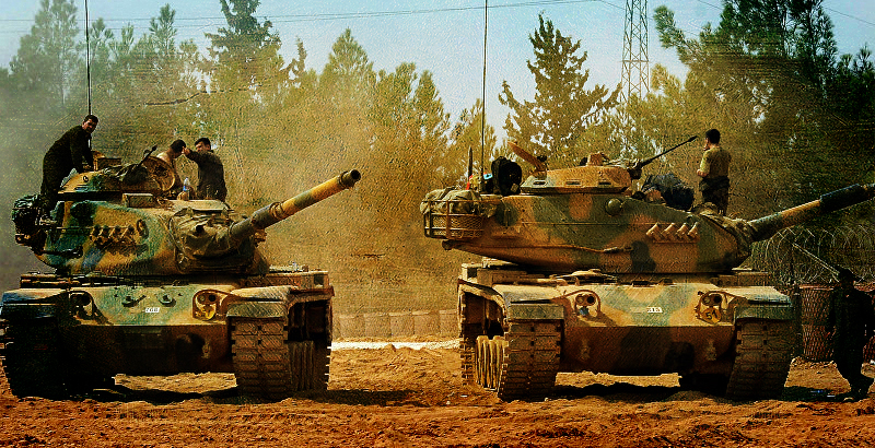 Turkey Massively Deploys Battle Tanks, Equipment Near Iraqi Border