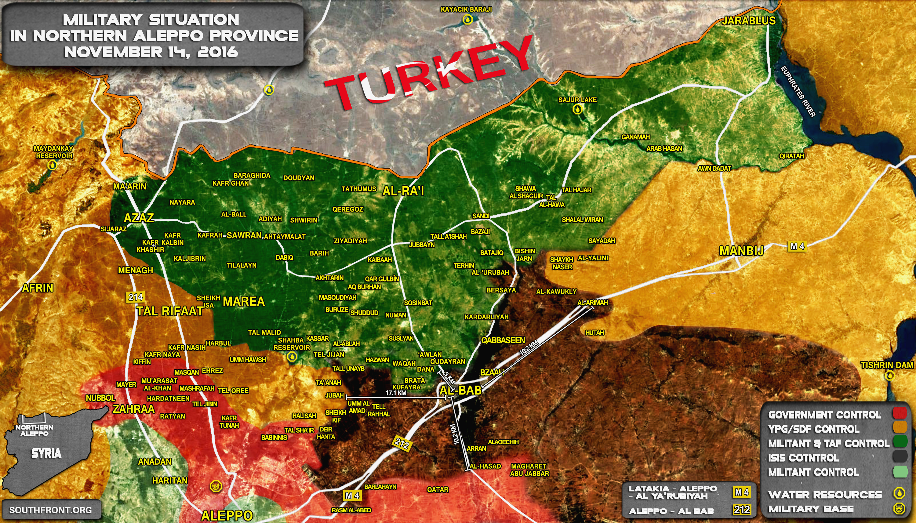 Turkey-led Forces Preparing to Storm ISIS Stronghold of Al-Bab